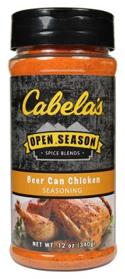 Cabela S Open Season Spice Blends Beer Can Chicken Seasoning Bass Pro Shops