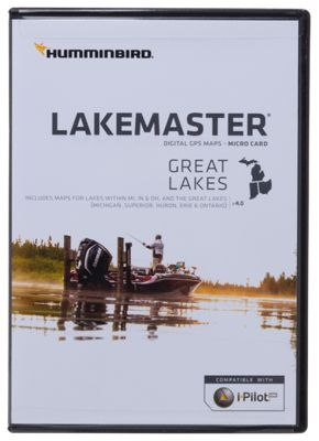 Humminbird LakeMaster Micro SD Card Digital GPS