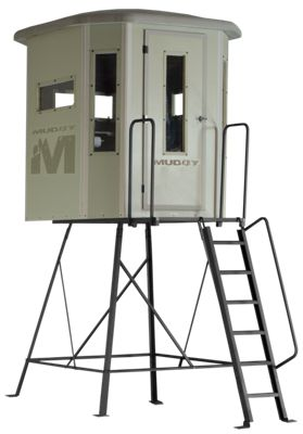 Muddy The Bull Box Hunting Blind With Elite Tower 5