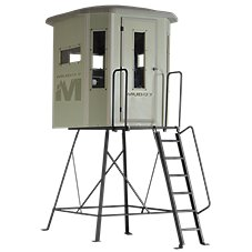 Muddy The Bull Box Hunting Blind with Elite Tower