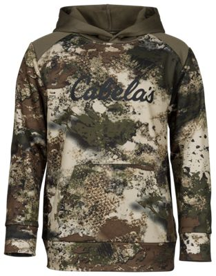 Cabela's Promo Camo Hoodie for Youth - Cabela's 02 Octane - L thumbnail
