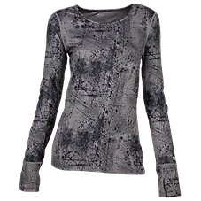 Terramar Cloud Nine Extreme Scoop-Neck Top for Ladies