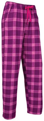 aef7e6e5fd Natural Reflections Flannel Pajama Pants for Ladies