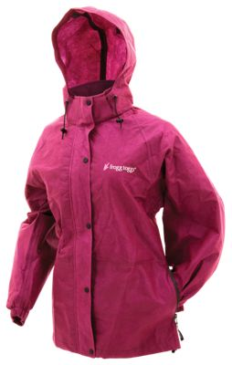 Frogg Toggs Pro Action Jacket for Ladies - Cherry - M