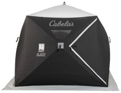 Cabelas Ice Team XL2000 Thermal Ice Shelter