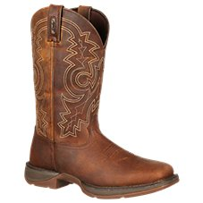 Durango Rebel Pull-On Square Toe Western Boots for Men