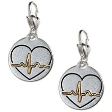 Amanda Blu Heartfelt Emotions Heartbeart Love 2-Tone Medallion Set