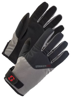 StrikerIce Attack Gloves - Gray - L