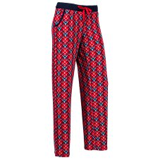 Natural Reflections Plaid Knit Sleep Pants for Ladies