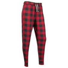 Natural Reflections Buffalo Plaid Jogger Pants for Ladies