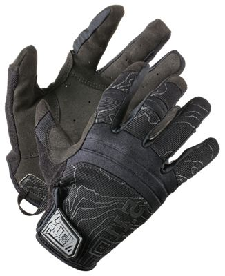 511 Tactical Competition Shooting Gloves for Men Black XL