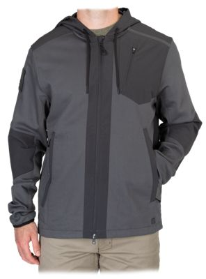 5.11 Tactical Rappel Jacket for Men - Flint - L thumbnail