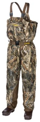 Cabela's Big Cypress Insulated Breathable Boot-Foot Waders for Men - TrueTimber DRT - 8M thumbnail