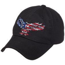 U.S. Honor Red White and Blue Eagle Cap