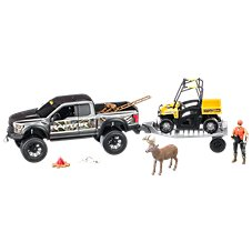 Cabela's Deluxe Licensed Ford Raptor Hunting TrueTimber Camo Adventure Truck Playset for Kids