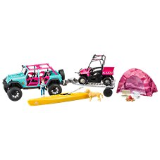 Bass Pro Shops Deluxe Licensed Jeep Camping Adventure Playset for Kids Image