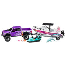 Bass Pro Shops Deluxe Licensed Ford Raptor Saltwater Playset for Kids