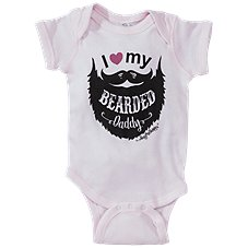 Bass Pro Shops I Love My Bearded Daddy Bodysuit for Babies