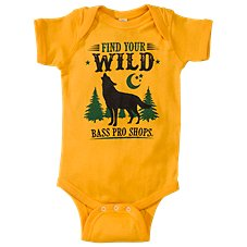 Bass Pro Shops Find Your Wild Bodysuit for Babies
