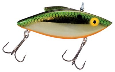 "Bill Lewis Original Rat-L-Trap Hard Bait – 3"" – Gold/Tennessee Shad"