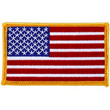 Bass Pro Shops American Flag Patch