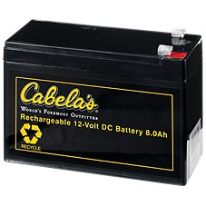 Cabela's Rechargeable 12V Battery Image