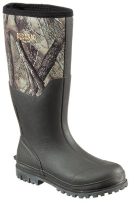 f397144f56c RedHead Camo Utility Waterproof Rubber Boots for Men