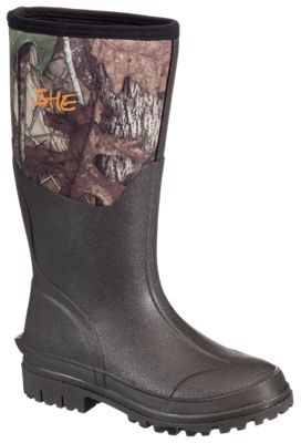 SHE Outdoor Camo Utility Waterproof Rubber Boots for Ladies – TrueTimber HTC – 5M