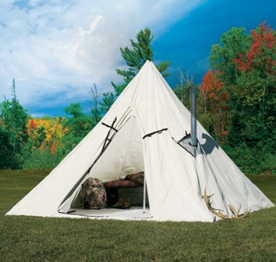 Cabela's Outfitter Range A-Frame Tent by Montana Canvas