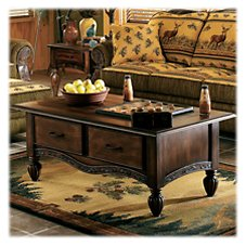 Modern of Marshfield Pine Cone Lodge Coffee Table