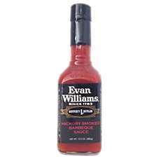 Evans Williams Hickory Smoked Barbeque Sauce