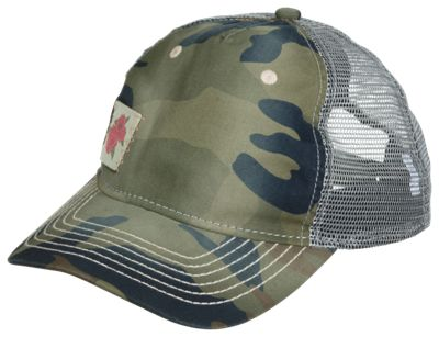 Bass Pro Shops Camo Rose Patch Cap for Kids – Camo/Grey