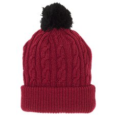 Bass Pro Shops Cable Pom Beanie for Kids