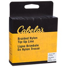 Cabela's Braided Nylon Tip-Up Line for Ice Fishing