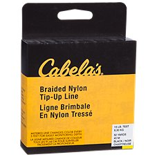 Cabela's Metered Braided Nylon Tip-Up Ice Fishing Line