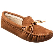 Minnetonka Moccasin Pile Lined Softsole Moccasins for Men