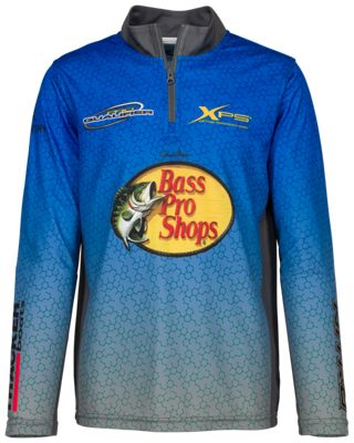 0108c84b Bass Pro Shops 1/4-Zip Fishing Shirt for Toddlers or Kids | Bass Pro ...