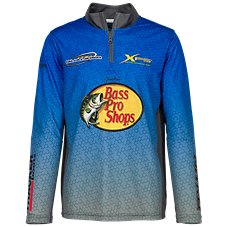 Bass Pro Shops 1/4-Zip Fishing Shirt for Toddlers or Kids