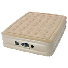 Serta Raised Air Bed with NeverFlat Pump