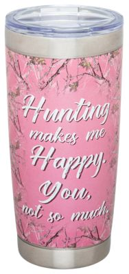 PURE Drinkware Hunting Happy Stainless Steel Tumbler – 20oz