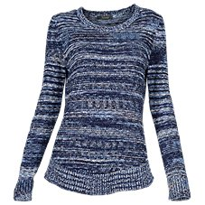 Natural Reflections Space-Dye Sweater for Ladies c8235c1538c