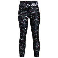 Under Armour HeatGear Printed Ankle Crop Leggings for Kids