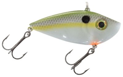 Strike King Red Eyed Shad Tungsten 2 Tap Lipless Crankbait 2