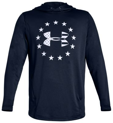 a6adad59 Under Armour Freedom Tech Terry Hoodie for Men | Bass Pro Shops