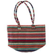 Quagga Fiesta Straw Bag