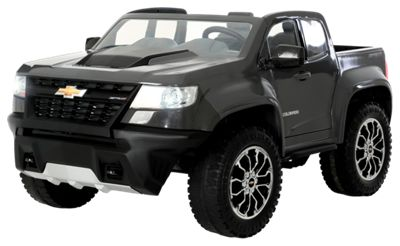 Name Rollplay Chevy Colorado 12v Battery Operated Ride On Truck For Kids Image Https Bpro Scene7 Is 2590427 100166631