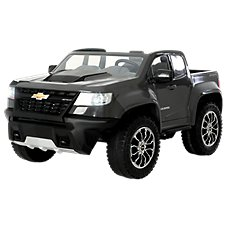 Rollplay Chevy Colorado 12v Battery Operated Ride On Truck For Kids