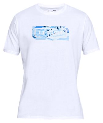 Under Armour Fish Icon Novelty T Shirt for Men WhiteBlue