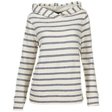 Natural Reflections Stripe Hoodie for Ladies