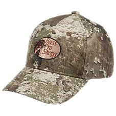 8ddf6209c4543 RedHead Silent-Hide Camo Hunting Cap for Youth with Bass Pro Shops Logo